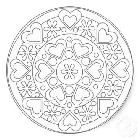 mandala coloring pages hearts celtic mandala coloring pages trend thingkid