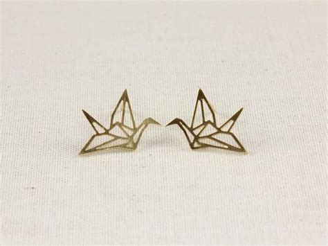 How To Make Origami Crane Earrings - origami crane earrings hello miss apple