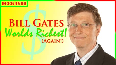bill gates biography forbes bill gates forbes richest person on earth again