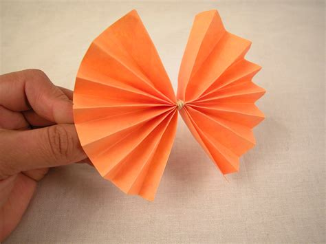 How To Make On Paper - how to make a paper bow 6 steps with pictures wikihow