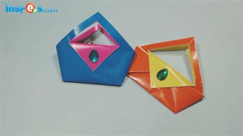 How To Make A Handbag With Paper - how to make an origami purse
