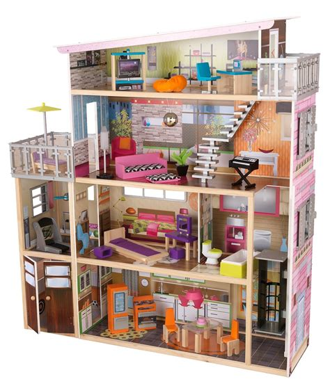 girls wooden doll house best wooden dollhouse 3 selected models