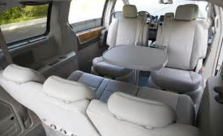 Chrysler Town And Country With Table Car And Driver