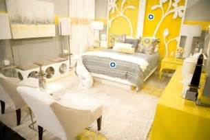 Yellow White Bedroom Home Design Yellow Bedroom