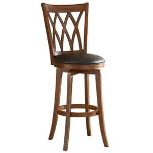 mansfield 24 quot counter stool harwood brown hill target