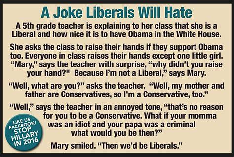 A Joke by A Joke Liberals Will Tomfernandez28 S