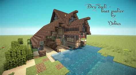 boat dock in minecraft nmb dry dock boat maker minecraft project