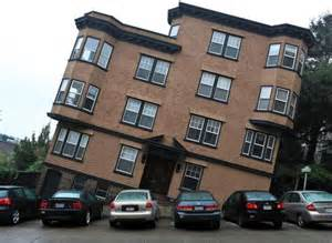 a tilted house in san francisco reminds us of the city s