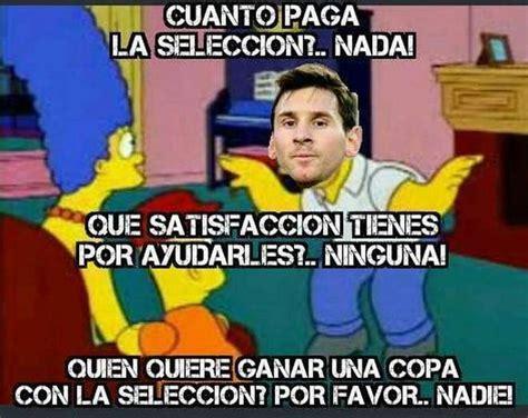 Memes Sobre Messi - los mejores memes sobre messi tras la final de la copa