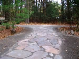Natural Stone Driveway by Stone Driveway By Natural Earth Garden Designs