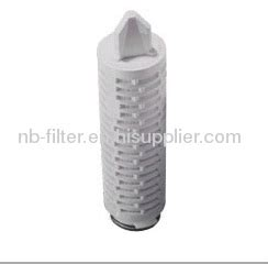 Pleated Absolute Filter 10 0 22 0 45micron hydrophobic ptfe pleated membrane filter manufacturer
