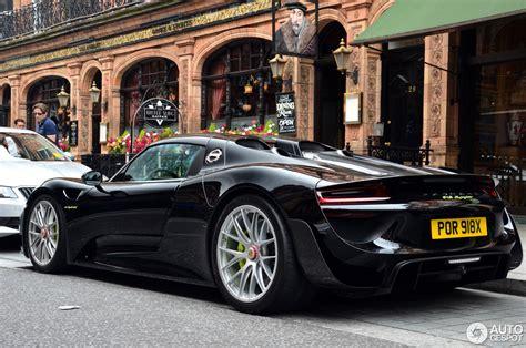Porsche Spyder Preis by Porsche 918 Spyder Weissach Package 22 March 2017