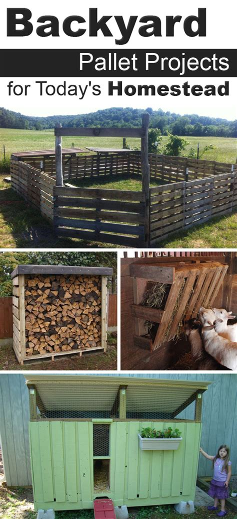 diy homestead projects 12 backyard pallet projects for today s homestead
