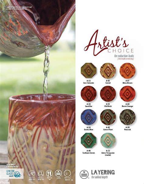 amaco ceramics a artist s choice low glazes amaco ceramic