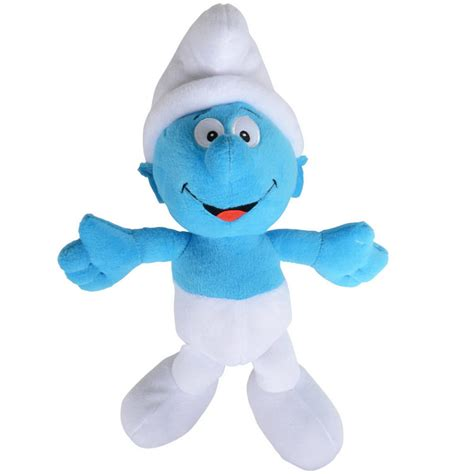 the smurfs 36cm 14 quot soft plush cuddly stuffed toy