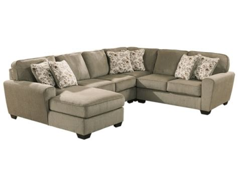 Patola Park Patina Sectional By Ashley Furniture The