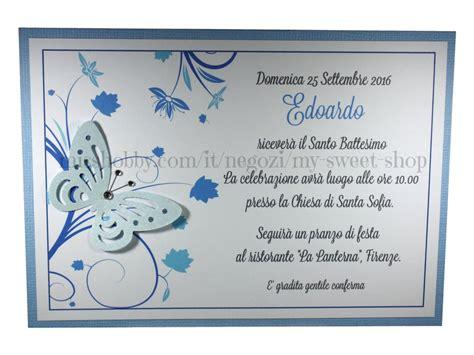 azzurro testo invito battesimo o per cerimonie e feste versione azzurro
