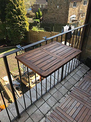ringhiera in legno per giardino click deck tavolo pieghevole da balcone in legno