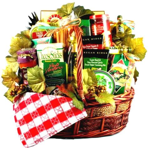 latest new gift baskets for christmas italian style family basket