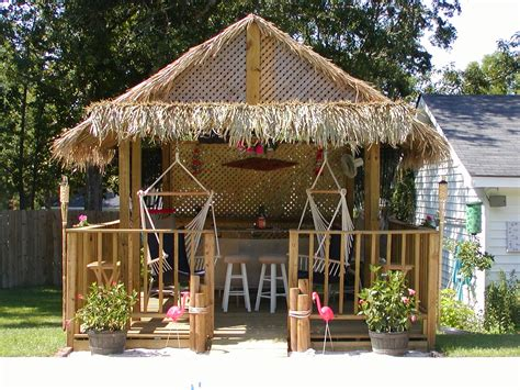 Tiki Hut Ideas Thatching For Diy Build Your Own Tiki Huts And Tiki Bars