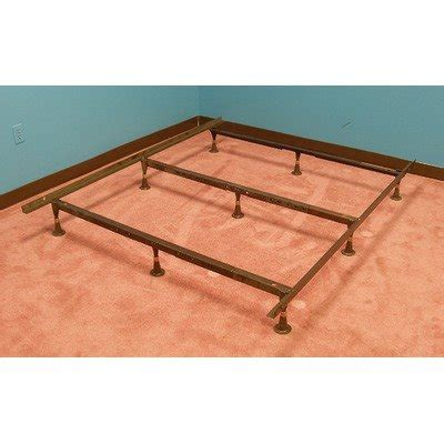 regular mattress on futon frame king size iron bed frames strobel organic heavy duty
