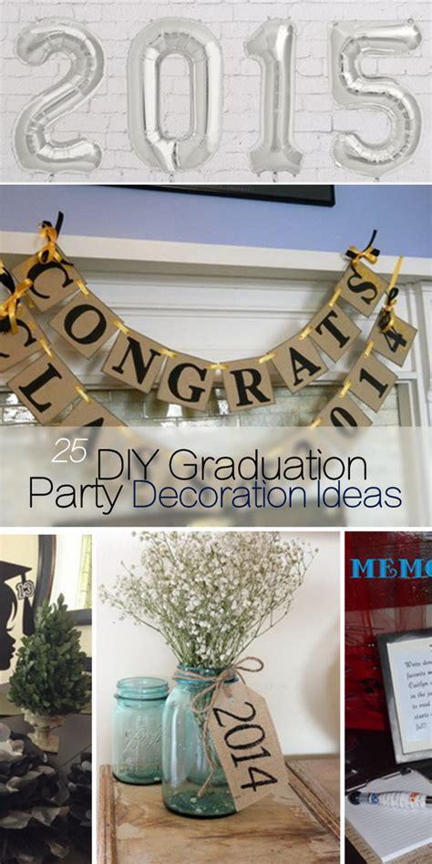 Diy Graduation Decorations by 25 Diy Graduation Decoration Ideas Hative