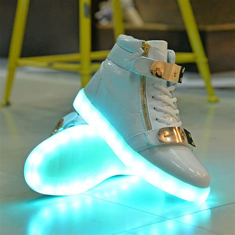 Light Up by Light Up Shoes Gold Pictures To Pin On Pinsdaddy