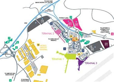 Airport Terminal Floor Plans by Terminal 3 Departures Manchester Airport