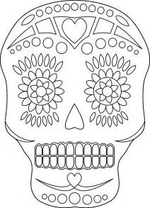 day of the dead skull coloring pages day of the dead skull coloring pages coloring home