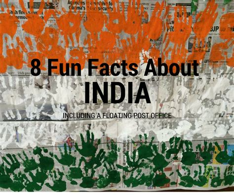 8 Facts About by 8 Facts About India Including A Floating Post Office