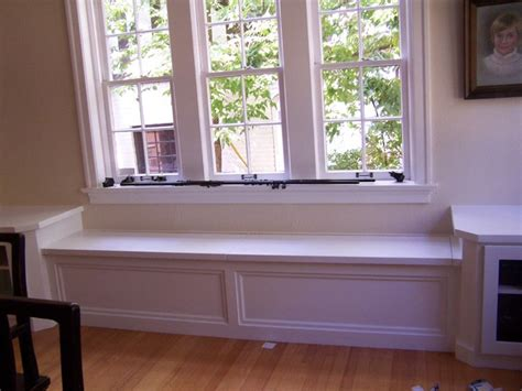 Window Seat Cabinets window seat with corner cabinets modern denver by amf custom works