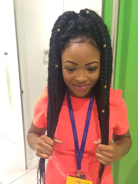 large poetic justice braids big box braids tumblr