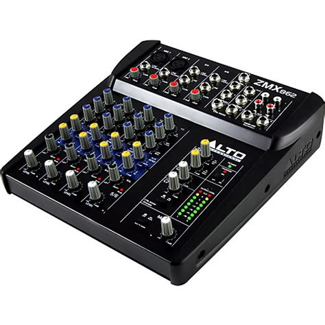Harga Compact Chanel alto zephyr series zmx862 6 channel compact mixer