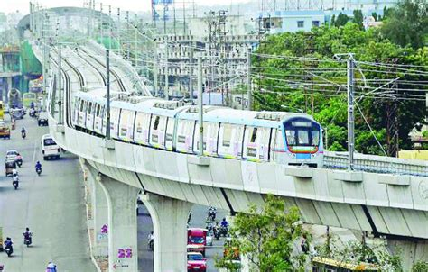 Live Projects For Mba Students In Hyderabad by Hyderabad Metro Rail Wants A Hike Before Run