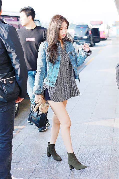 blackpink fashion blackpink jenny airport fashion kpop airport fashion