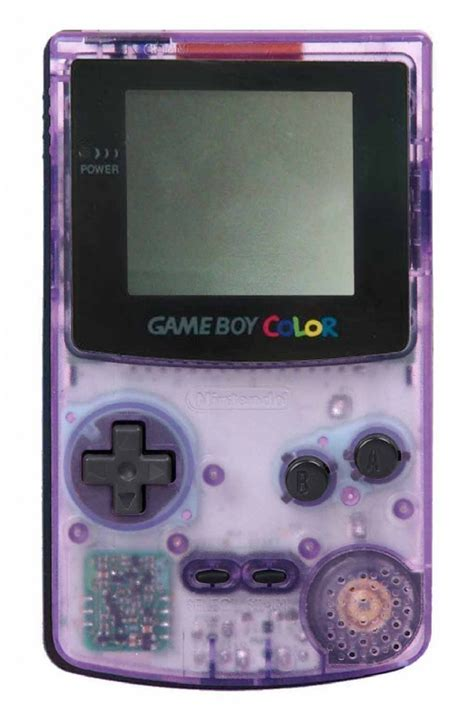 atomic purple gameboy color buy boy color console atomic purple cgb 001