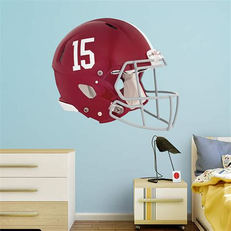 alabama crimson tide helmet wall decal shop fathead 174 for