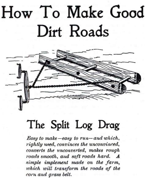 how to build a great how to make dirt roads henry wallace 1905 roads highways and ecosystems the use of