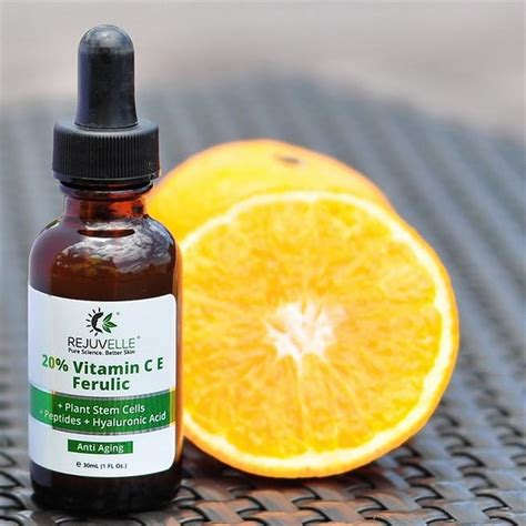 Serum Vitamin C E vitamin c serum 20 vit c e ferulic rejuvelle