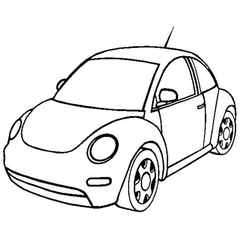 beetle car coloring page new volkswagen beetle car coloring pages new volkswagen