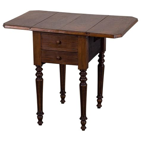 Antique Drop Leaf Table Antique Mahogany Drop Leaf Table Circa 1870 At 1stdibs