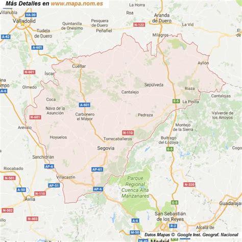mapa de carreteras de asturias tama 241 o provincias de espa a mapa de carreteras callejeros mapa de segovia provincia y pueblos pagina 1