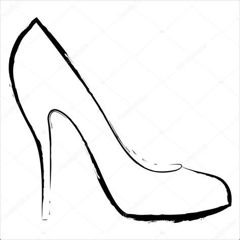 desenho femininos desenho de sapato feminino vetor de stock 169 ngaga35