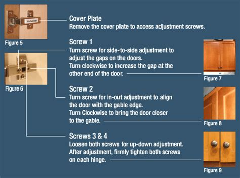 how to adjust cabinet door 3 adjusting cabinet doors legacy kitchens news