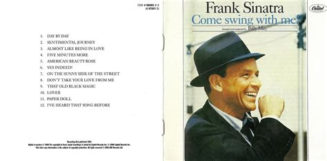 sinatra come swing with me musica frank sinatra the capitol years flac mega