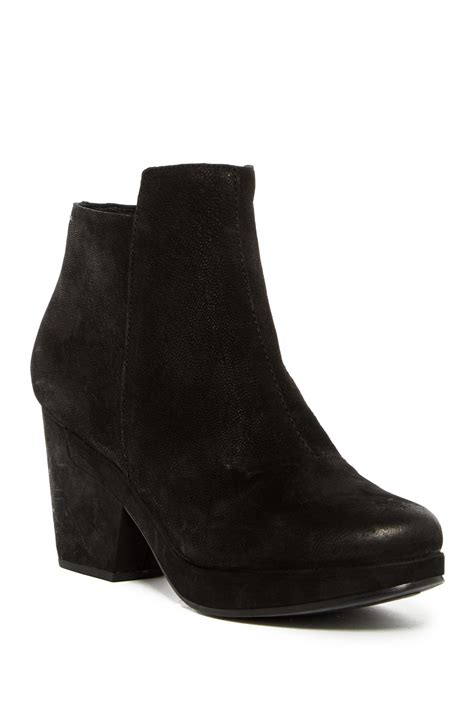 Eileen Fisher Bluff Ankle Boot In Black Lyst