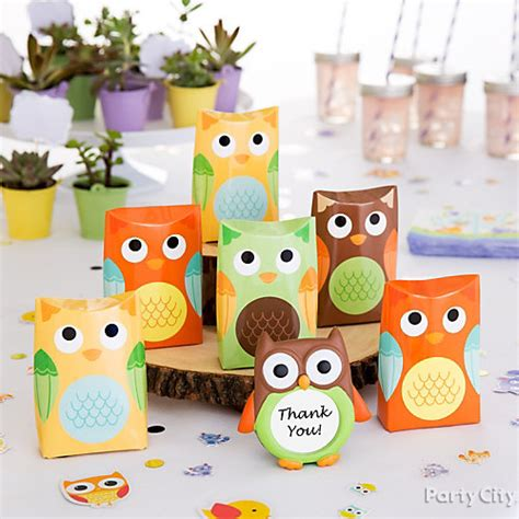 Owl Baby Shower Decorations Canada by Owl Favor Display Idea Woodland Baby Shower Ideas Baby