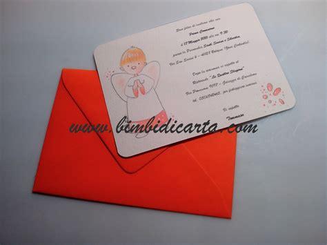 ci inviti alla tua festa testo un angioletto tutto arancio per la prima comunione di