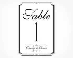 table numbers template for weddings 7 best images of wedding table numbers printable 4x6