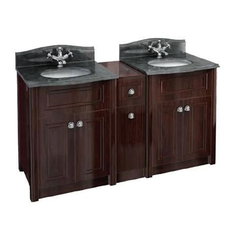 Period Vanity Units by Burlington Two Vanity Units Vanity Joining Unit With